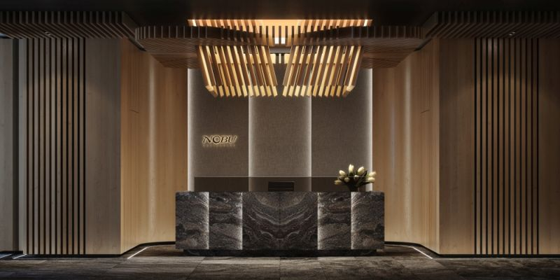 Nobu lobby