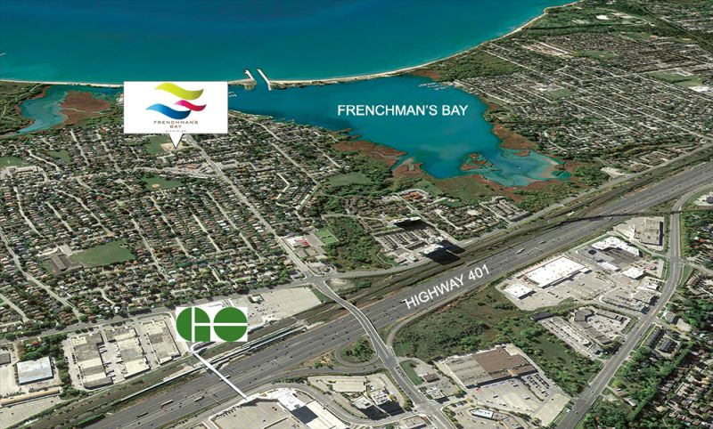 Frenchman's Bay location