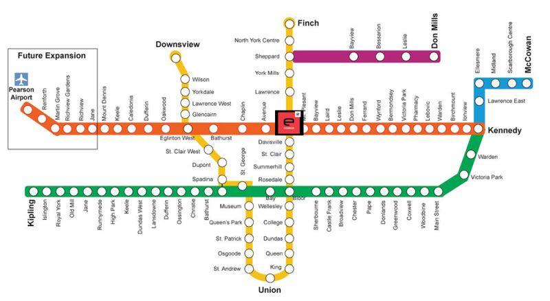 e2 TTC map