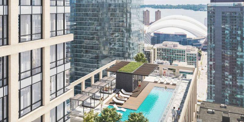 Peter & Adelaide - rooftop pool