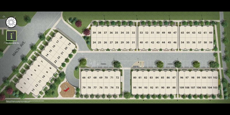 Southside Towns - siteplan
