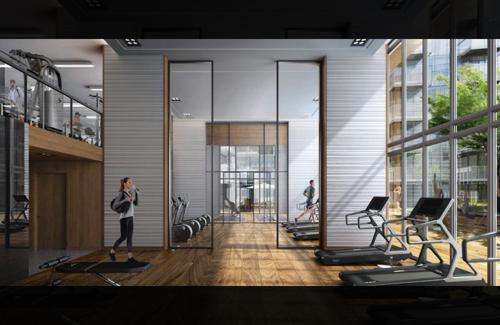 M2M Condos - gym