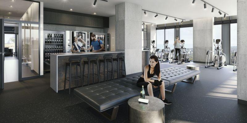 Empire Phoenix Condos - exercise room