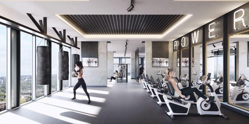 Empire Phoenix Condos - workout area