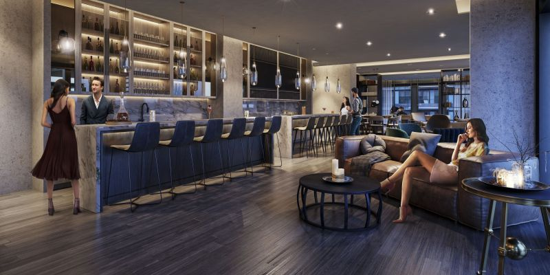 Empire Phoenix Condos - Bar & Lounge