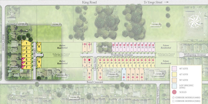 Limited Edition in Oak Ridges - site plan
