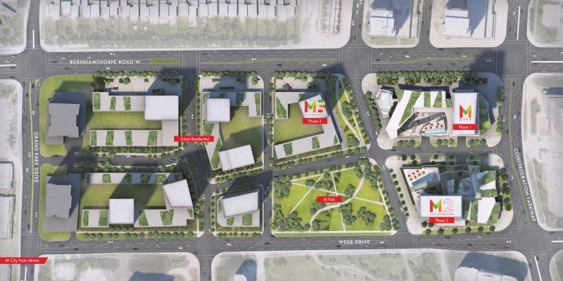 M City - siteplan