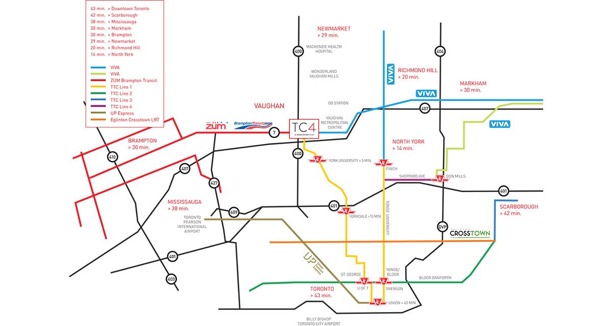 TC4 transit connections
