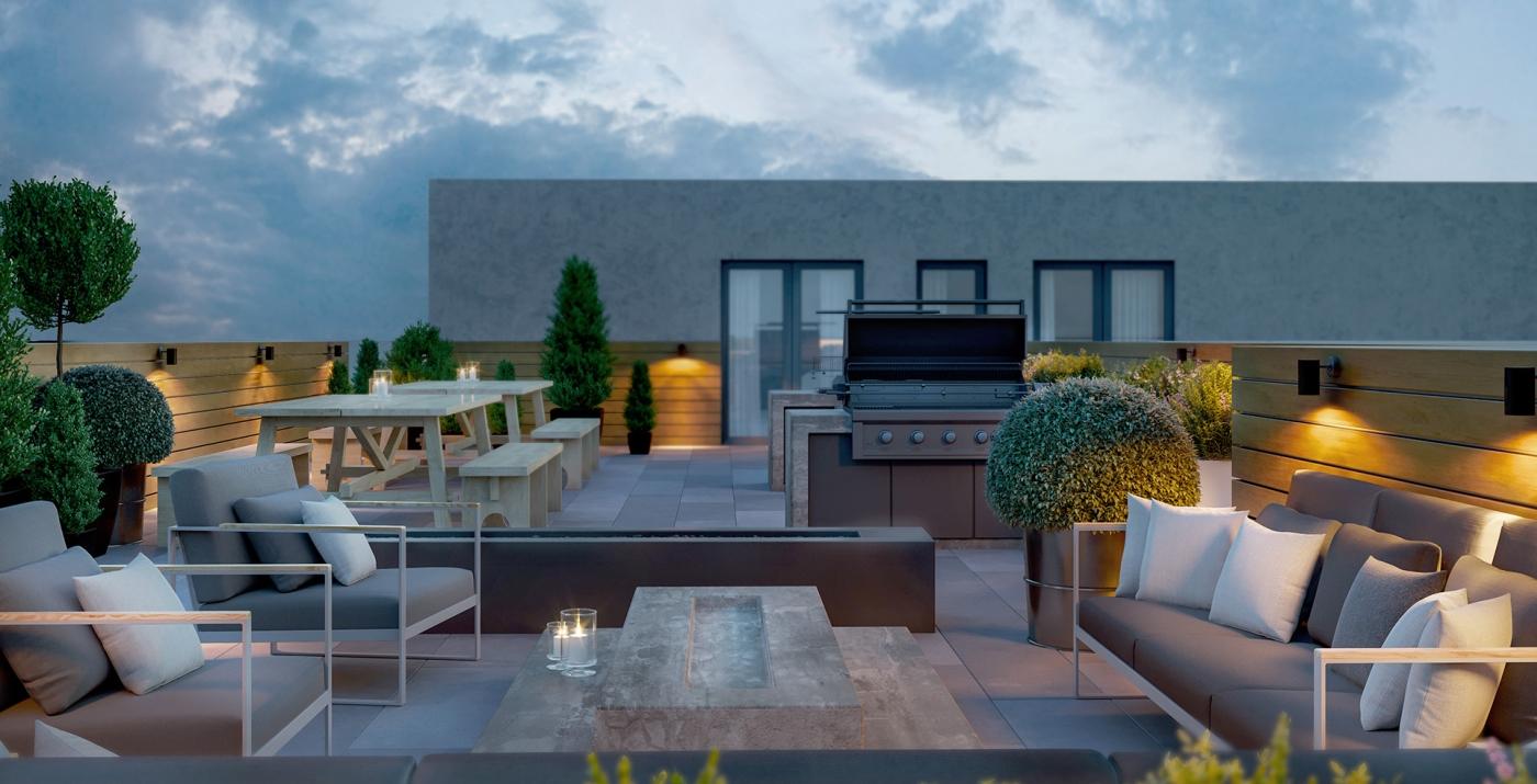 Margo Condos - terrace